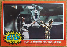 Topps Star Wars trading card 1977, 23A Special mission for Artoo-Detoo!