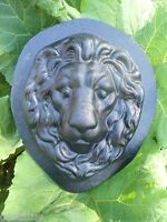 Lion plastic mold plaster concrete reusable plastic casting mould