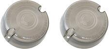 Smoke Turn Signal Lens (Pair) Harley Sportster XL 883 1986-2001 repl. OEM# 68457