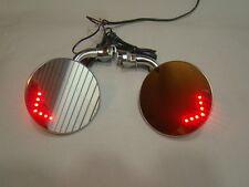 door mount peep mirror LED turn signal mirror side view mirror custom mirrors
