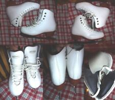 Ice Figure Skates Riedell 275 Basic 4-8 Made in Usa Girls Size 3 M #1