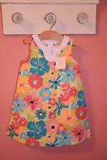 NWT Janie Jack Poolside Palms Floral Dress 2T $49 Summer