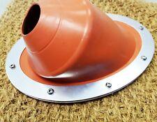 45º Angle Bell Tent Stove Wood Burner Flue Flashing Kit for Tipi Yurt Shed Boat