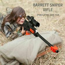 NEW NERF Gun Soft Bullet Military Sniper Rifle Airsoft Air Guns Kids Gift Weapon
