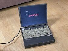 Compaq Armada 3500 Retro Vintage Laptop Windows 98 Pentium II Docking Station