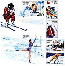 Uganda 1997 Winter Olympic, Nagano 1998, MNH, perf. #1