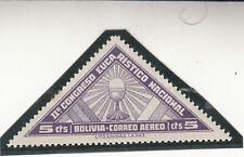 Bolivia 1939. Airmail 5c Second National Eucharistic Congress Mnh