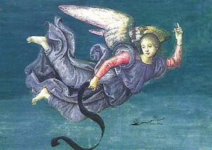 Kunstkarte / Postcard Art - Raffael: Engel aus Auferstehung Christi