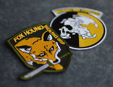 Metal Gear Solid Rising - Militaires Sans Frontieres & Foxhound Iron-On Patch