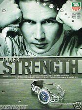Publicité advertising 1998 La Montre Tag Heuer chronograph avec Mika Hakkinen