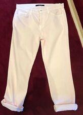 ac667d103 J BRAND Georgia Mid-rise crop Slim Boyfriend jeans size 26 Light Pink VGC