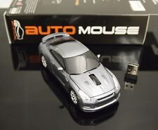 AutoMouse Nissan GTR Car, 2.4GHz Wireless RF Laser Optical Computer Mouse USB