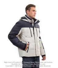 ~ Goose Down Coat / Sport Jacket / Warm Parka Пуховик sz 3XL / EU 58  $495  NWT