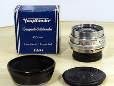 Voigtländer Skoparex  3,4/35 mm  Zubehörpaket  12 Monate Gewähr TOP !