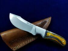 """8.1"""" SEO Handmade Full Tang Stainless Steel EDC Hunting Skinner Knife"""