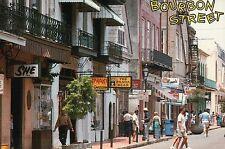 Bourbon Street, French Quarter, New Orleans, LA, Topless Bar, etc. --- Postcard