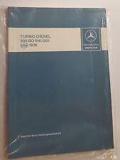 """Reparaturhandbuch """"Einführung in den Kundendienst"""" Mercedes 300SD (116.120) USA"""