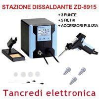 STAZIONE SALDANTE DISSALDANTE ASPIRA STAGNO SALDATORE ACCESSORI ZD8915 8915