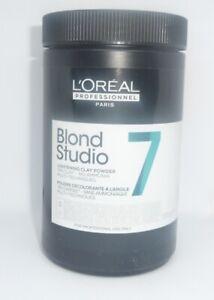 L'Oréal Blonde Studio 7 Clay Powder Blondirpulver 500g