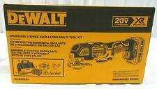 DeWALT DCS356D1 20V MAX XR Brushless 3-Speed Oscillating Multi-Tool Kit