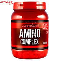 AMINO COMPLEX 360 TABLETS - Whey Protein Pills - BCAA Amino Acids - Bodybuilding