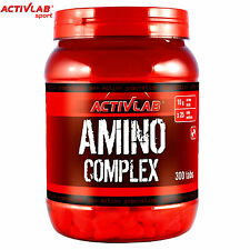 Amino Complex 300 Tablets Whey Protein Pills BCAA Branched Chain Amino Acids
