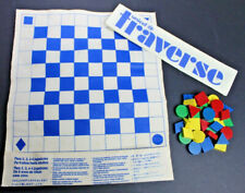 Vintage 1989 Traverse Board Game The Portable Packable Game Set Unicef