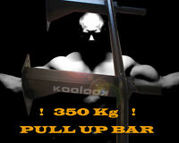 COLORE BIANCO PULL UP BAR GYM BAR BARRA SBARRA PER TRAZIONI KOOLOOK STRONG