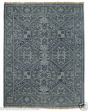 Restoration Hardware Stratto Grey Hand Knotted Rug 5x7 Wool $1749 MSRP