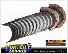 Race Series Main Bearings Holden 6cyl 173 202 Red Blue-Black Engines ACL 7M2398H