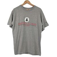 USA College Northern Illinois Alumni Grey Short Sleeve T Shirt - Mens Large