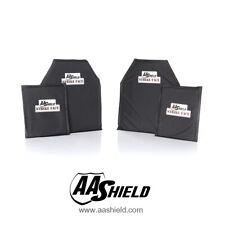 AA Shield Plaque balistique gilet par-balles panneau IIIA 10X12#2 & 5x8 trousse