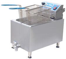 Globe Gpc16 Electric Countertop Pasta Cooker Boiler w/ 2 Baskets & Drain