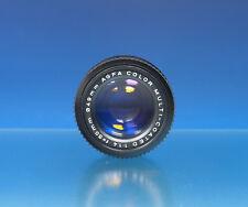 Lente Agfa color multi-coated 50mm f1.4 ø49mm lens para Pentax K - (201487)