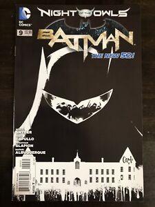 BATMAN #9 NEW 52 1:200 CAPULLO VARIANT DC COMICS NM
