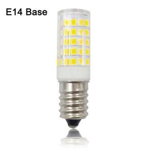 50x E14 Screw Candle 64-2835 LED Light Corn Bulb Lamp Ceramics Lights 110V/220V