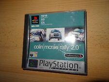 Colin McRae Rally 2.0 - Sony Playstation 1 PS1 PAL versión Coleccionistas De Menta