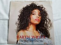 "Karyn White - The Way You Love Me 7"" Vinyl Single"