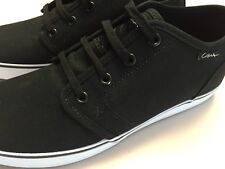 New CIRCA shoes Navy Canvas Drifter Skate Size 10