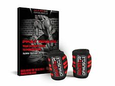 """Master of Muscle Number 1 Rated - Wrist Wraps -18"""" - Perfect for Weightlifting"""