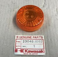 Plastica Vetro Freccia - Lens Signal Lamp - Kawasaki KLR650 NOS: 23048-1052