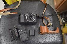 Sony A6300 24.3MP 4K ILCE-6300 Camera + 16mm f2.8 Lens (E-mount) + Battery Grip
