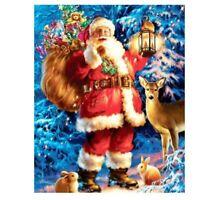 5D Full Drill Diamond Painting Art Craft Santa Claus Home Decor Cross Stitch Kit