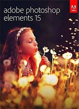 Brand NEW Adobe Photoshop Elements 15 Windows Mac in Retail Box