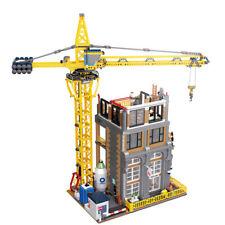 LEGO MEGABLOKS CITY COMPATIBIL100% 4425pz☆CITY STREETVIEW CANTIERE MOC ☆ BULKBOX