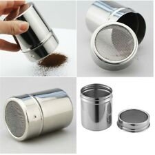 Honbay Stainless Steel Chocolate Shaker Icing Sugar Powder Cocoa Flour Coffee US