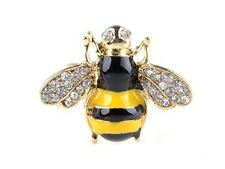 Fashion Gold Plated Bumblebee Ring Honey Bee Knuckle Ring Lovely Animal Ring