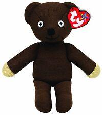 "TY Beanie Baby Buddy * TEDDY * GRANDI Bean Mr hoodie 15"" (38 cm) di altezza Nuovo di Zecca"