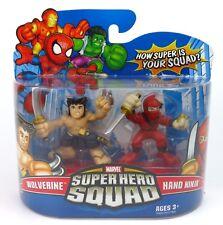 Marvel Super Hero Squad - Wolverine & Hand Ninja Action Figure Set