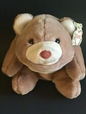 "Vtg Gund 10"" Plush Snuffles Bear Butterscotch Caramel 2156 Stuffed Animal NEW"